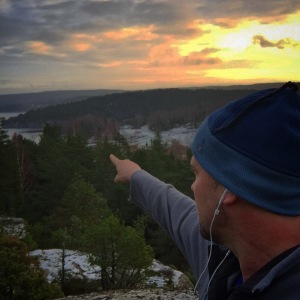 lookout point on a hike regarding personal growth