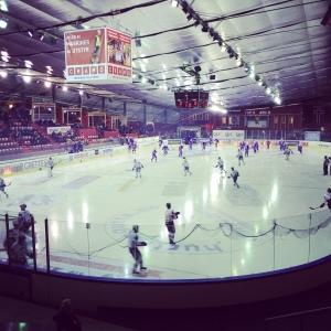 hockey game is oslo, norway
